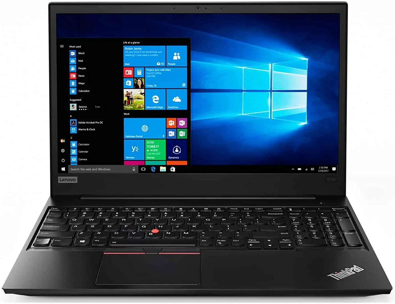 Lenovo Thinkpad E570 - Ordenador portátil de sobremesa (procesador Intel Core i3-7100, 4 GB, disco duro de 500 GB, Windows 10 Home Multi-Language (Reacondicionado)