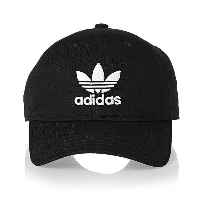 adidas Originals Trefoil Cap One Size Black at Amazon Men s Clothing store  3996f3d4ac5