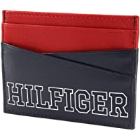 Tommy Hilfiger Men's Varsity Colour-Blocked Card Holder, Tommy Navy, One