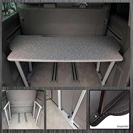 Tappetino per estensione letto ripiano Brett VW BUS t5 Multivan