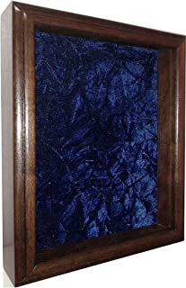 product image for flag connections Single or Double Medal Awards Display Case (Blue Velvet)