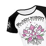 BLACK WIDOW COMBAT SPORTS Women's Lotus Rash Guard