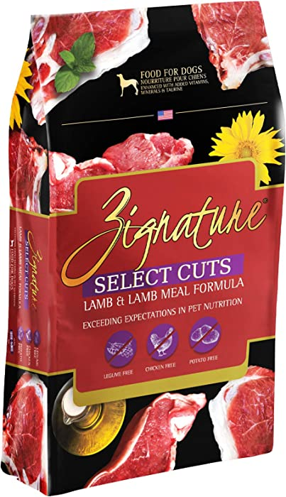 Zignature Select Cuts Limited Ingredient Formula Legume-Free Dry Dog Food