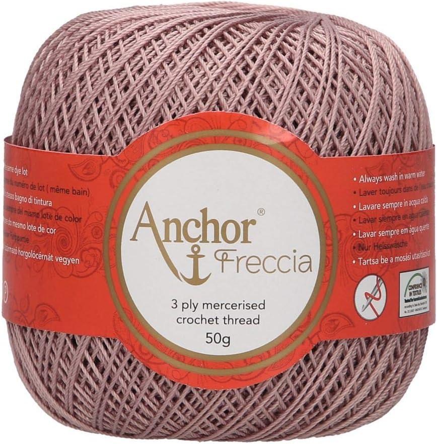Anchor Hilos De Crochet Freccia, Fuerza: 12, Embalaje: 50g ...