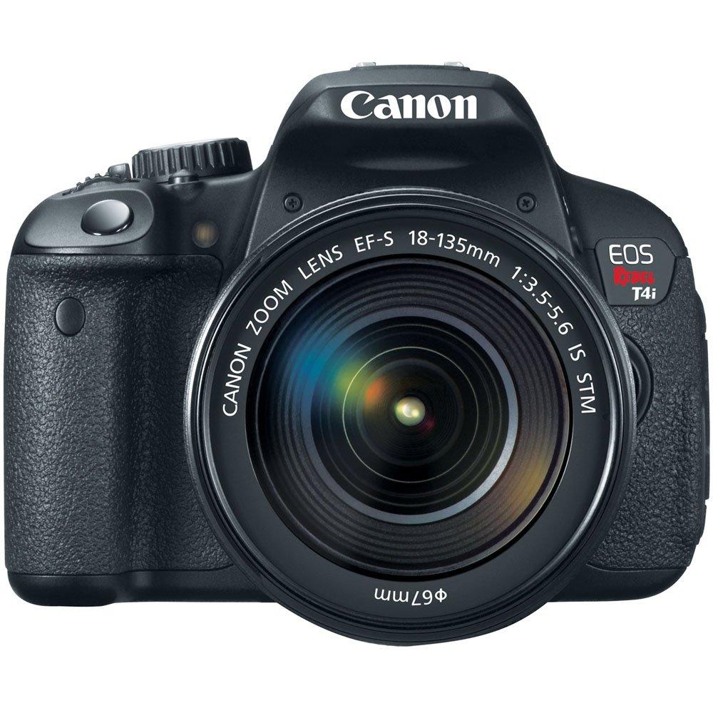 Amazon.com : Canon EOS Rebel T4i 18.0 MP Digital SLR with 18-135mm ...