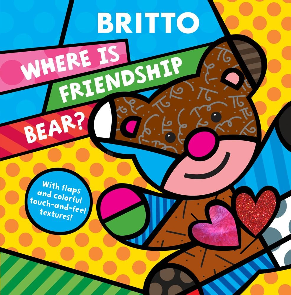 Where Friendship Bear Romero Britto product image