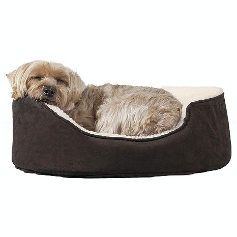 Amazon.com: FurHaven Cama para mascotas ovalada para perros ...