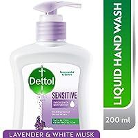 Dettol Sensitive Anti-Bacterial Liquid Hand Wash 200ml