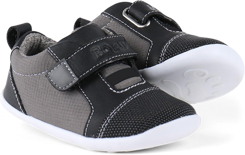 Bobux Gris Bleu gar/çon Chaussures Souple pour b/éb/é