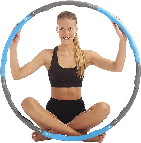 just be...® Aro de Fitness Hula Hoop para Ejercicios físicos ...