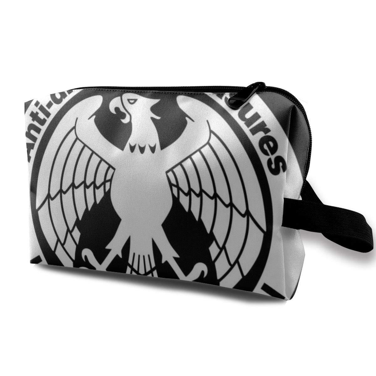Makeup Bag Cosmetic Pouch Anti Disaster Measure Hero Association One Punch Man Multi-Functional Bag Travel Kit Storage Bag