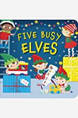 Five Busy Elves Board book