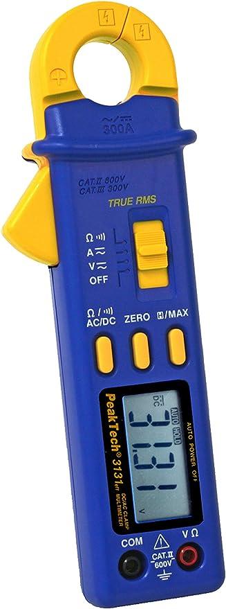 Peaktech True Rms Stromzange 300 A Ac Dc 4000 Counts Mit Multimeter 1 Stück P 3131 Baumarkt