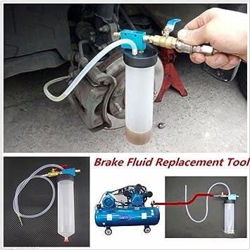 Coche & camión sistema de frenos Líquido sangrado Kit de herramientas hidráulico del embrague herramienta de