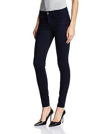 212c5372 Levi's Women's 710 Super Skinny Jeans (21325-0022_Dark Indigo - Flat  Finish_32)