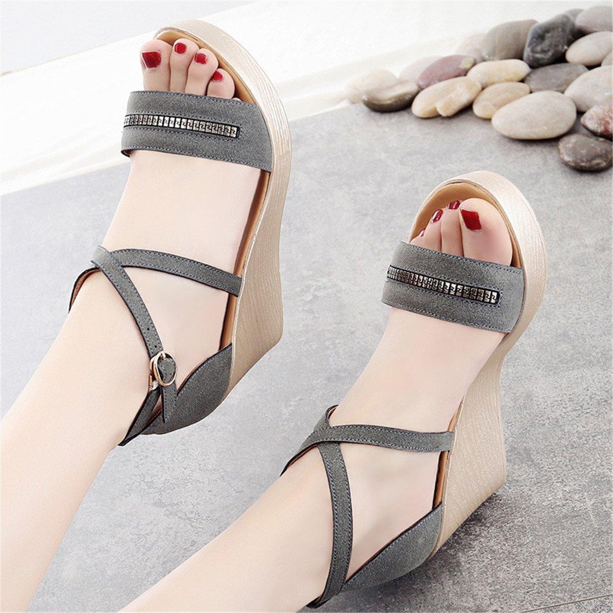 Woherren schuhe Comfort Sandals Walking schuhe   Damen Sandalen   Sandalette Damen Mode Sandalen   Singapur   dick mit Sandalen Sandalen große Code