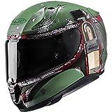 HJC Full Face RPHA-11 Pro Boba Fett Helmet (Green, Medium)