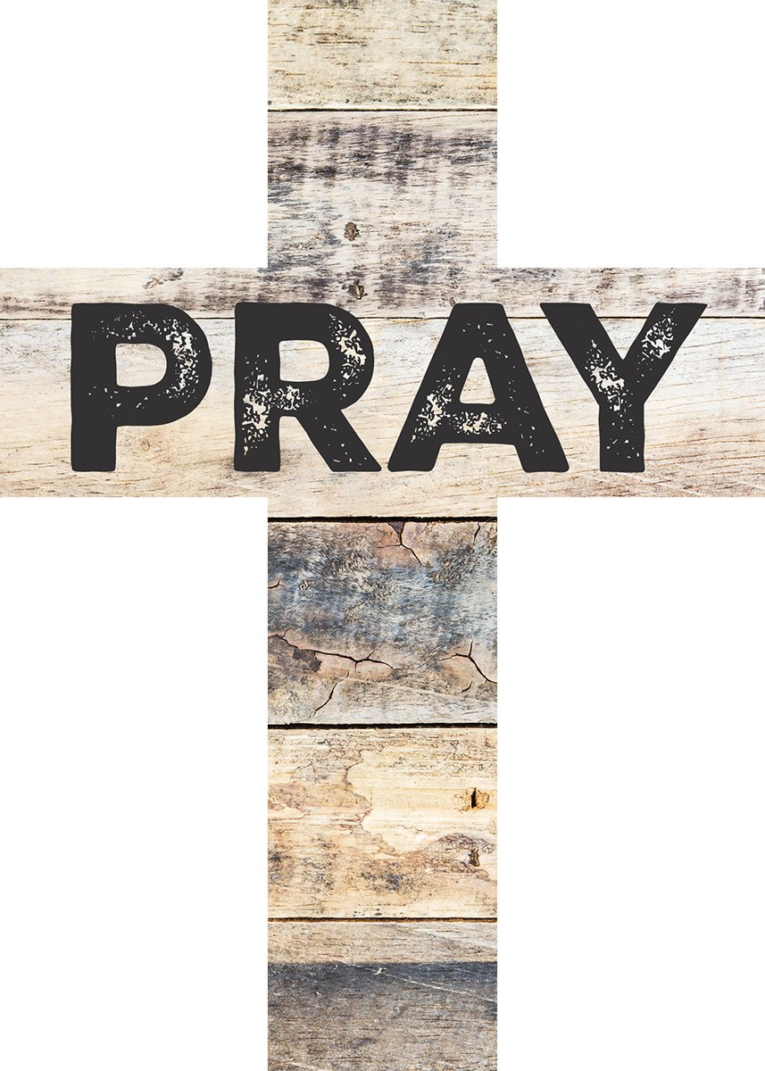 Wood Wall Art Cross Pray Distressed Look 7 X 5 Plaque Christian Home Decor New 656200239537 Ebay
