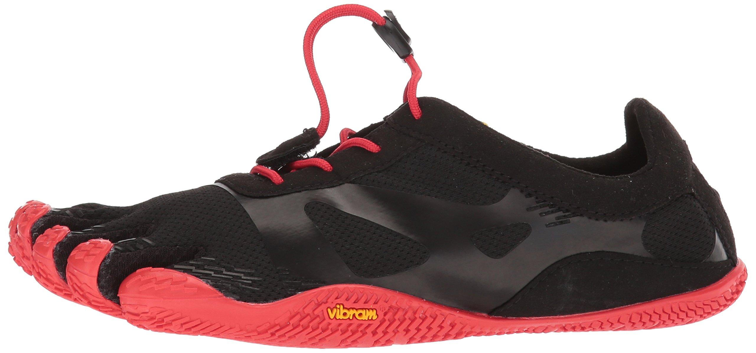 Vibram Men's KSO EVO Black/Red Cross Trainer, 8.0-8.5 M D (40 EU/8.0-8.5 US) by Vibram (Image #5)