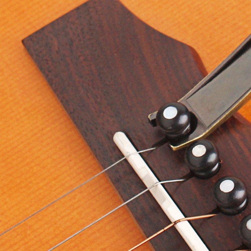 Aussi Ukulele Banjo Capos Bronze Healifty K10 Trigger Guitare Capo pour Guitare Electrique et Acoustique Ukulele Capo Cannelle