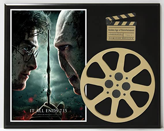 Harry Potter And The Deathly Hollows Part 2 Ltd Edition Movie Reel