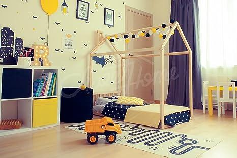 Letto Per Bambini Montessori : Arredare la cameretta montessori da a anni casafacile
