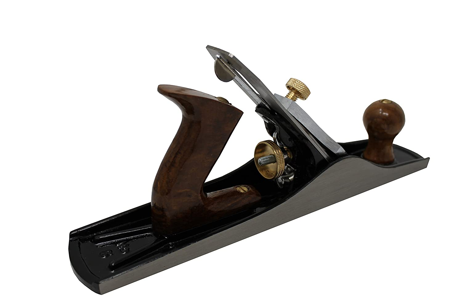 5 Fully Adjustable Wood Hand Planer Iron Jack Plane Bench Plane No Includes 2 blades 14-Inches Long with 2-Inch Cutter