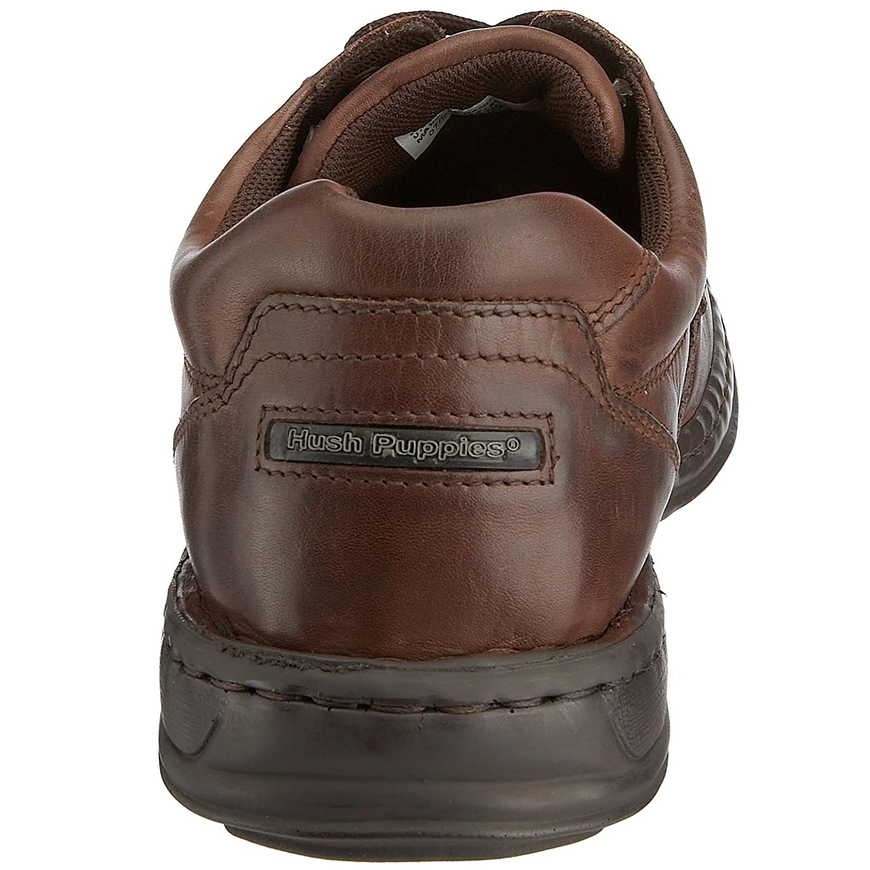 fd373bd1fbec Hush Puppies Men s Lace-Up Flats Brown Size  6  Amazon.co.uk  Shoes   Bags