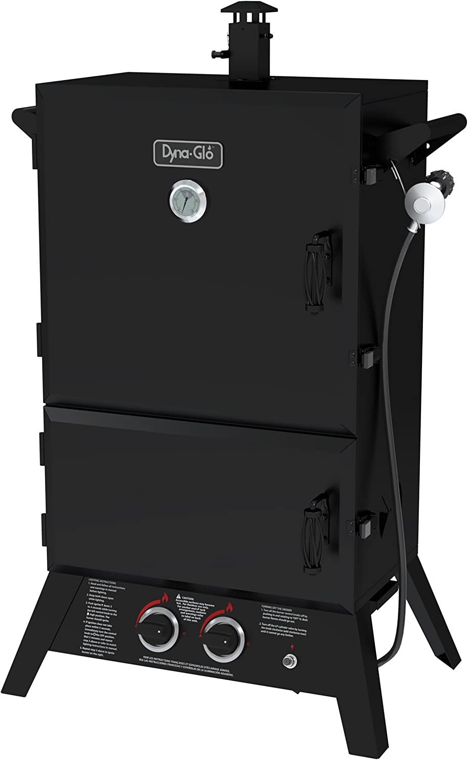 Best Wide-body Model - Dyna-Glo DGW1235BDP-D Gas Smoker