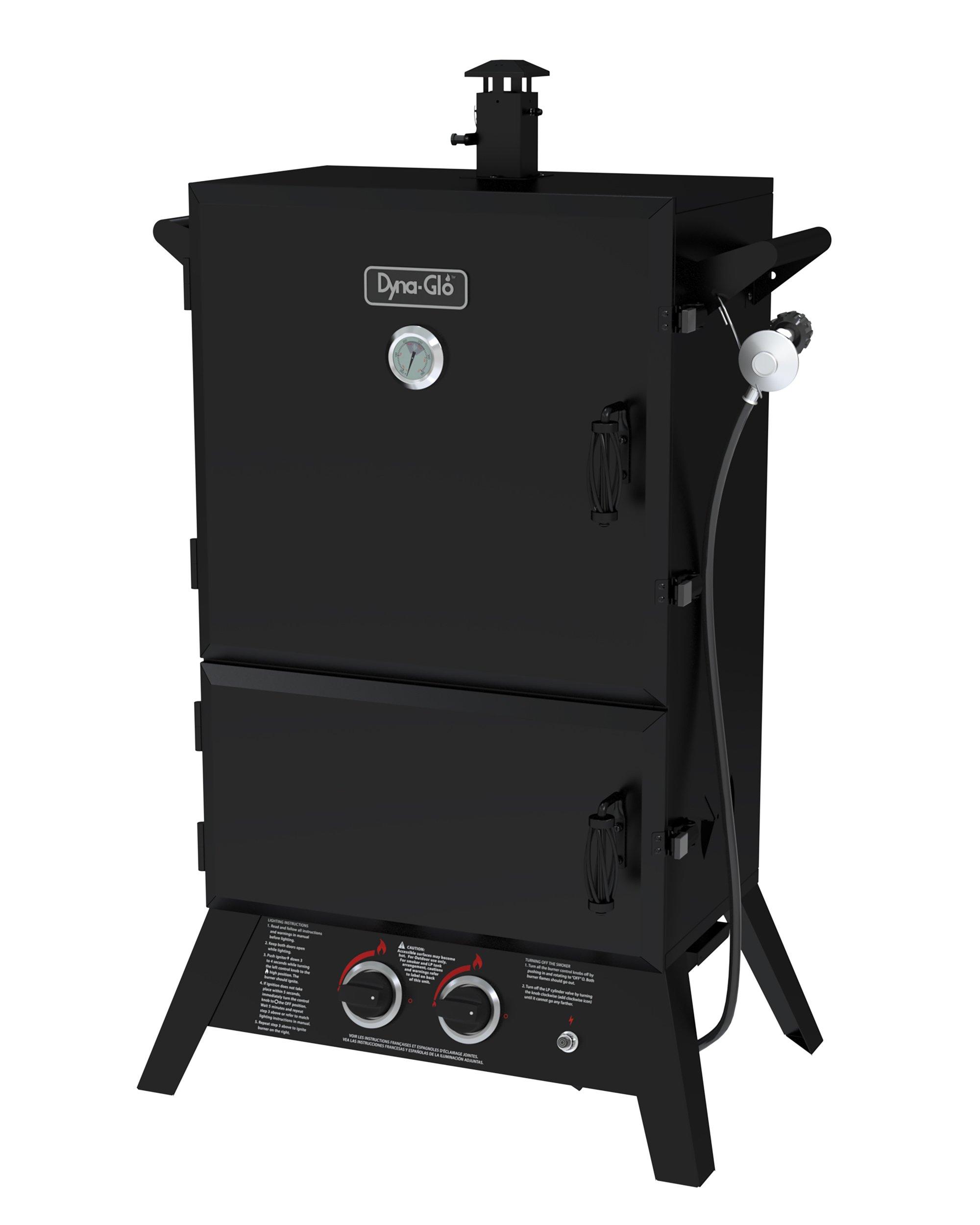 Dyna-Glo DGW1235BDP-D 36'' Wide Body LP Gas Smoker