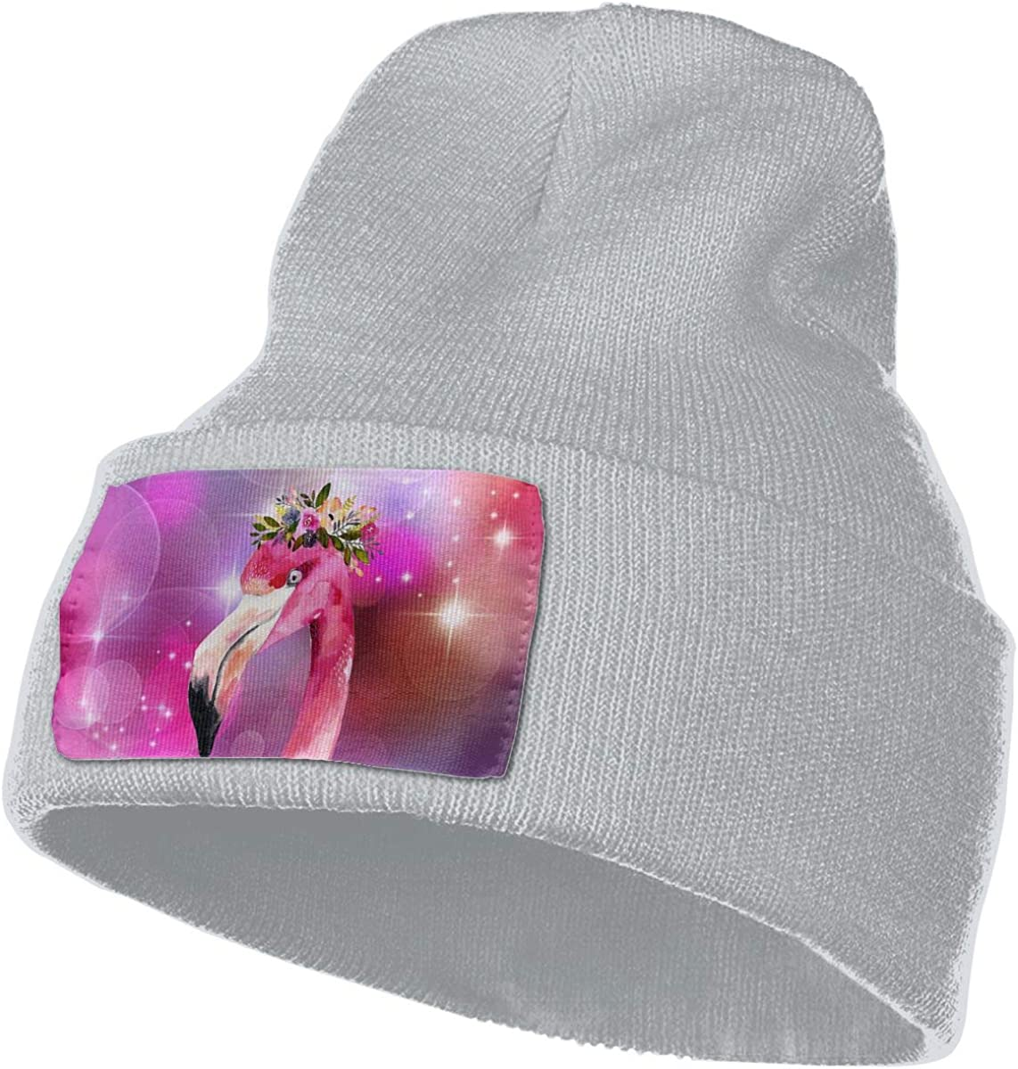 Flamingo Hat for Men and Women Winter Warm Hats Knit Slouchy Thick Skull Cap