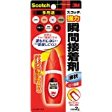 3M スコッチ 強力瞬間接着剤 液状多用途 2g 7004
