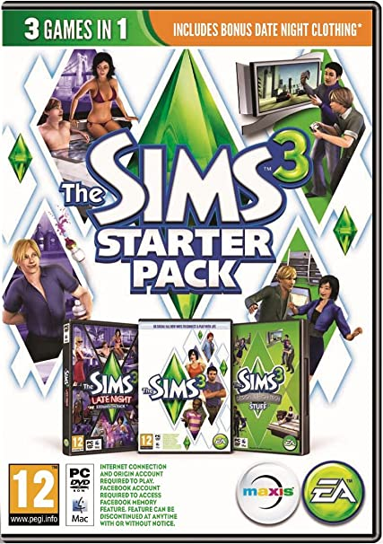 Amazon com: The Sims 3 Starter Pack Late Night High-End Loft