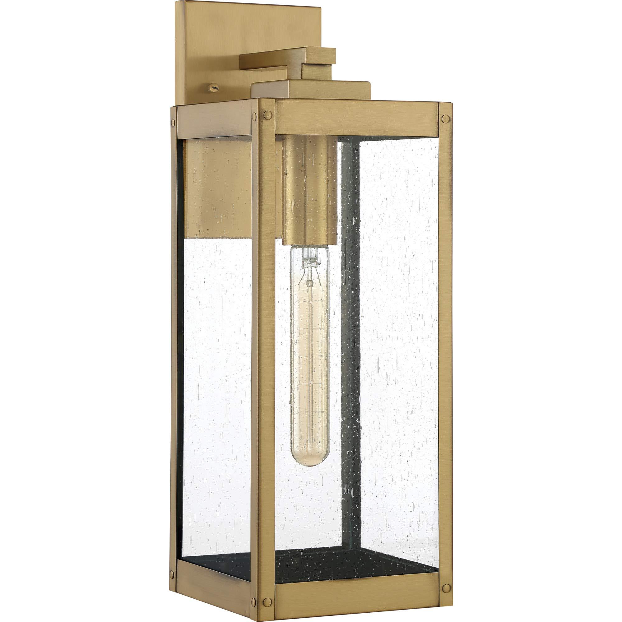 Quoizel WVR8406EK Westover Lantern Outdoor, Earth Black