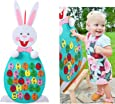 Aytai DIY Felt Bunny with 26pcs Alphabet for Kids Letter Matching Games, Preschool Educational Toys for Toddlers Birthday Gifts Party Games Home Wall Hanging Decoration