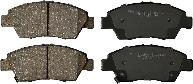 Premium Ceramic Disc Brake Pad FRONT Fits Honda Fit Civic Acura RSX ILX KFE948