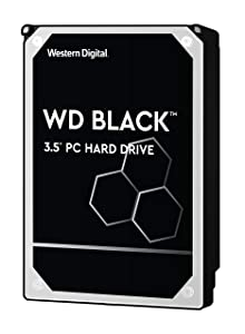 "WD Black 4TB Performance Hard Drive - 7200 RPM, SATA 6 Gb/s, 256 MB Cache, 3.5"" - WD4005FZBX"