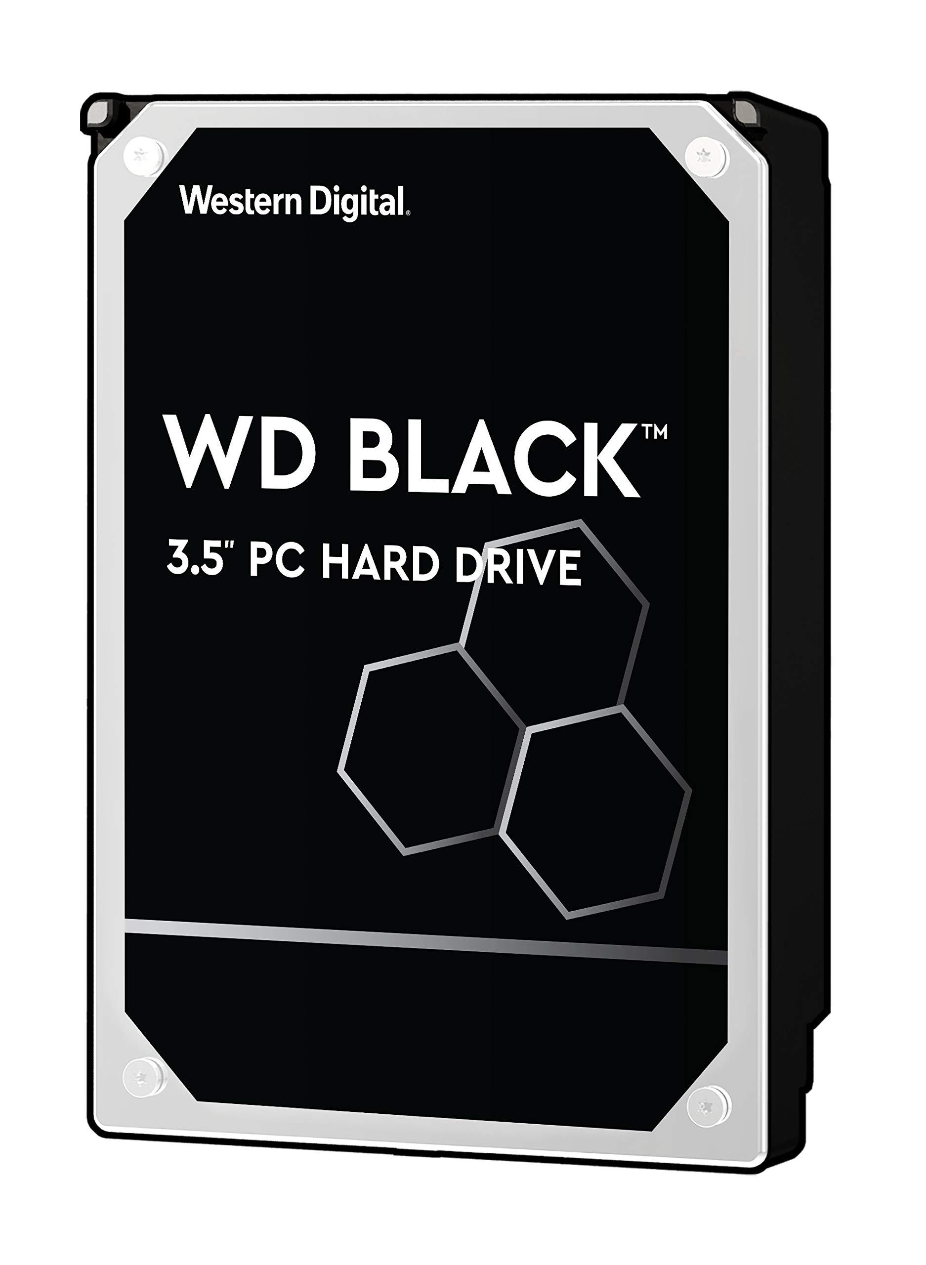 WD Black 2TB Performance Desktop Hard Disk Drive - 7200 RPM SATA 6 Gb/s 64MB Cache 3.5 Inch  - WD2003FZEX
