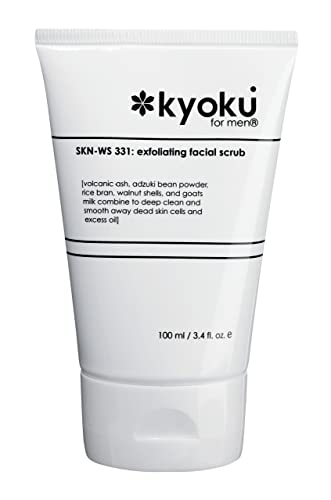 Kyoku for Men Exfoliating Facial Scrub - 100 ml