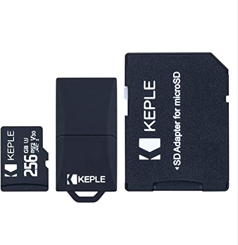 Tarjeta de Micro SD 256GB MicroSD Compatible con ASUS Zenfone MAX Plus/Pro/Shot, ZenFone Lite,