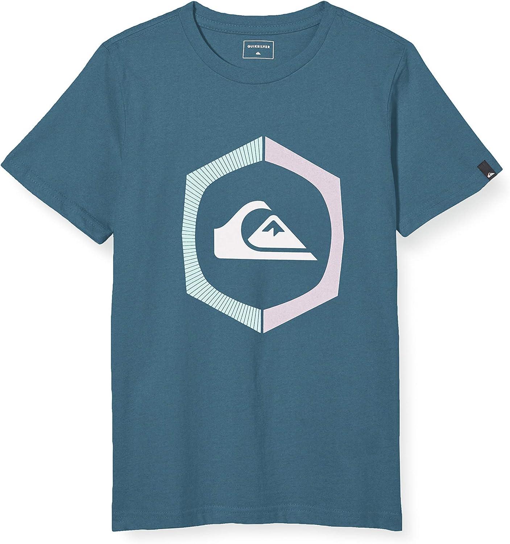Quiksilver Sure Thing - Camiseta para Chicos 8-16 - Screen tee Niños