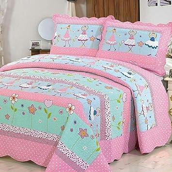 KekeHouse® Tagesdecke 100% Baumwolle Kinder Überwurf Decke ...