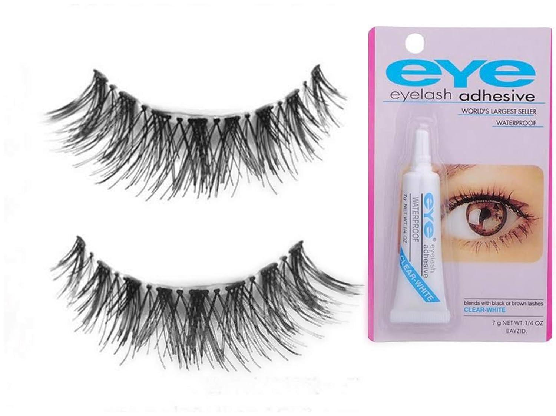 20bd9e5bda8 Buy Colour Blast Eyelash Eyelashes With Glue Eyelashes 3D Mink Eyelashes  Strip False Eyelashes For Women Eyelashes Natural Online at Low Prices in  India ...