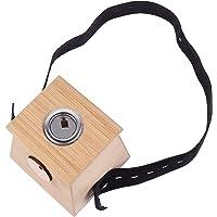 EXCEART Bamboe Moxa Doos Draagbare Moxibustion Box Moxa Stick Holder Een Gat Healing Doos Moxibustion Tool Voor…