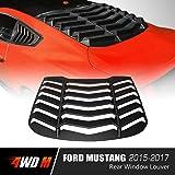 4WDMUSCLE Matte Black Lambo Style Rear Window