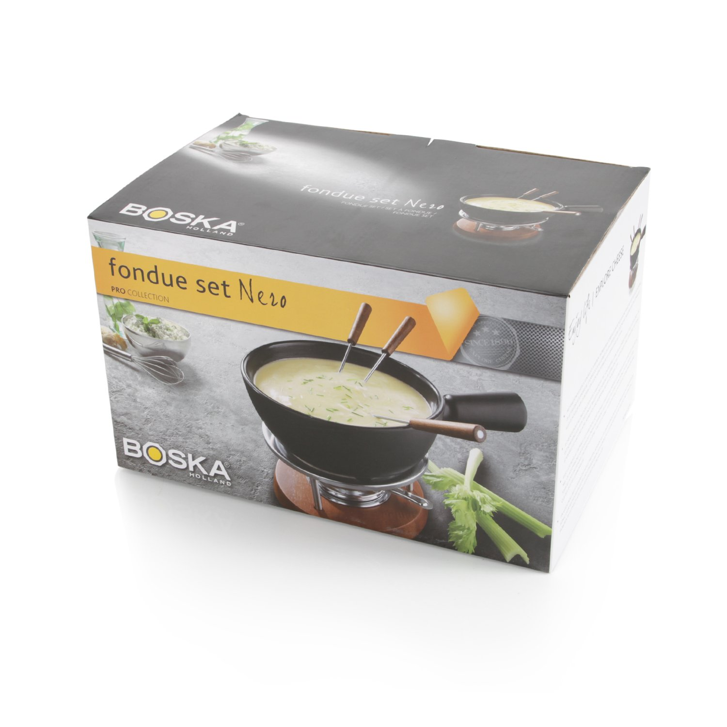 Boska Holland Taste Collection Nero Fondue Set by Boska Holland (Image #5)