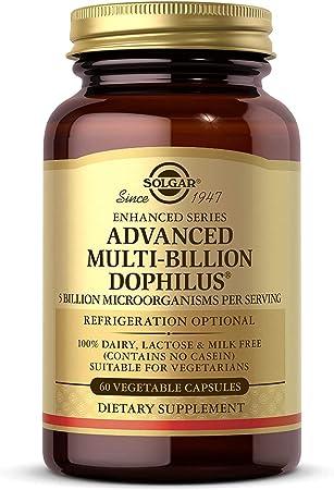 comprar Solgar Multi-Billion Dophilus Avanzado Cápsulas vegetales - Envase de 60