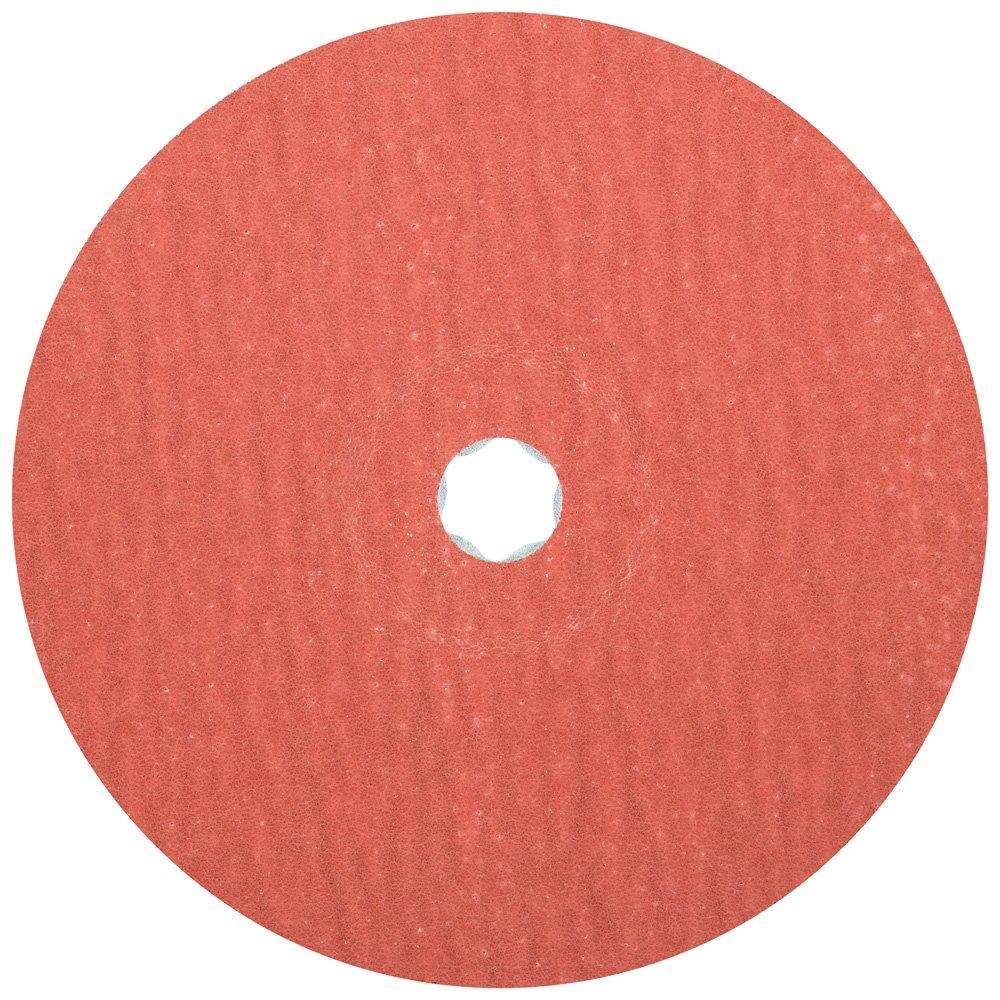 60 Grit PFERD 40329 Combiclick Fibre Disc Pack of 25 8500 RPM Aluminum Oxide A-Cool 7 Diameter