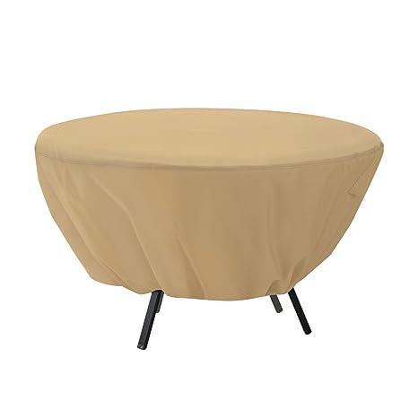 Image Unavailable - Amazon.com : Classic Accessories Terrazzo Round Patio Table Cover