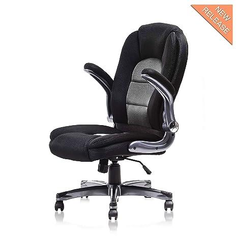 Amazon.com: kerms ergonómico giratorio ajustable silla de ...